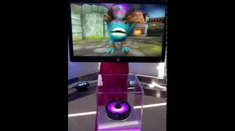 Skylanders Giants Alchemist on screen demo preview video.MOV