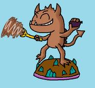 Dust Devil Figure