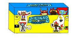 Skylanders triple fighters starter pack