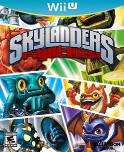 Skylanders Fighters! Boxart