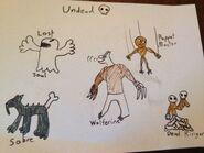 Skylanders- Elemental Masters Undead Skylanders