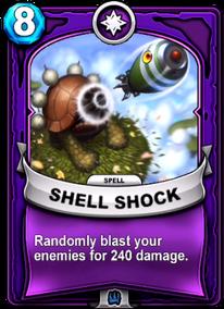 Shell Shockcard