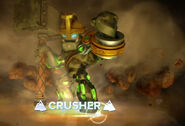 Crusher in skylanders Swap Force