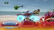 "Trailer oficial de lanzamiento de Skylanders SuperChargers ""Large and SuperCharged"" ES"