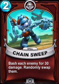 Chain Sweepcard