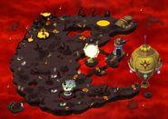 Universe Fire Skyland