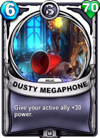 Dusty Megaphone - Reliccard
