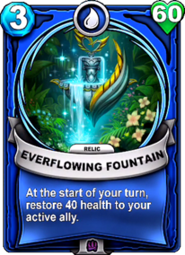 Everflowing Fountain - Reliccard