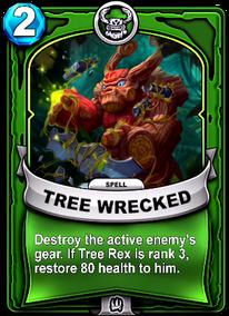 Tree Wreckedcard