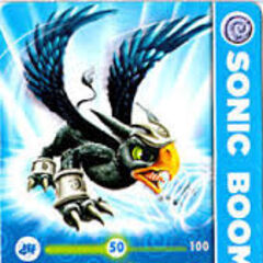 Carta de Sonic Boom S1.