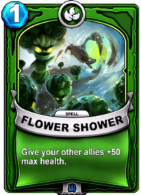 Flower Powercard