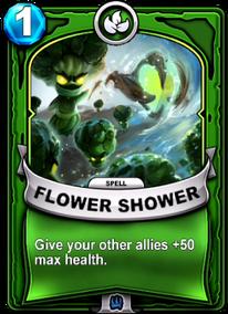 Flower Powercard