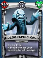 Holographic Kaos
