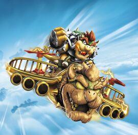 Ilustracion de Clow Cruiser-SuperCharged