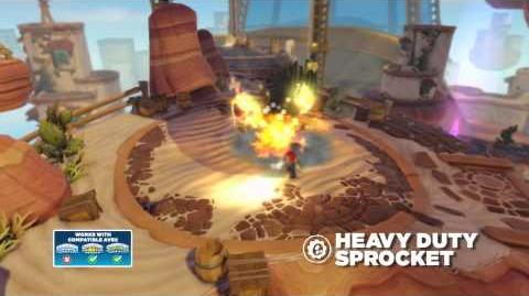 Meet the Skylanders Heavy Duty Sprocket