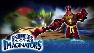 Official Skylanders Imaginators Meet Legendary Pit Boss
