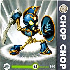 Carta de Chop Chop Serie 1