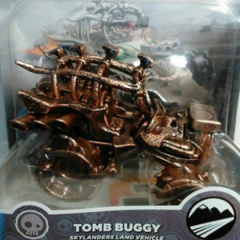 Figura del Tomb Buggy de bronce