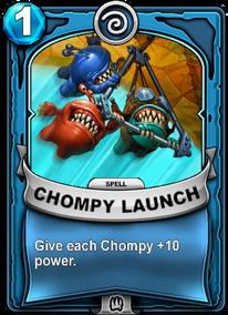 Chompy Launchcard
