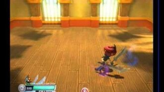 Glitches Skylanders SWAP Force - Move Set Twin Blade Chop Chop