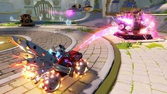 OFFICIAL Skylanders SuperChargers Action Clips Dark Hot Streak