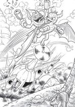 Spyro y Trigger Happy 1