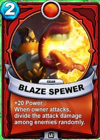 Blaze Spewer - Gearcard