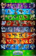Skylanders swap force poster by 84pokedude-d6kdb9z