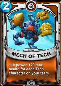 Mech of Techcard