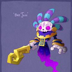 Concepto artístico de Bad Juju