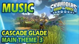 ♪♫ Cascade Glade - Main Theme 3 Skylanders SWAP Force Music