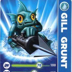 Carta de Gill Grunt serie 1
