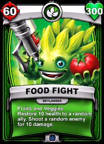 Fruits and Veggies - Habilidad especialcard