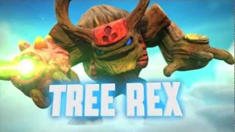"Meet the Skylanders - Tree Rex ""Be Afraid Of the Bark!"" Official Trailer"