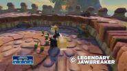 Meet the Skylanders Legendary Jawbreaker