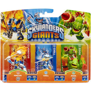 Ignitor serie 2 en triple pack junto con Chill s1 y Zook s2