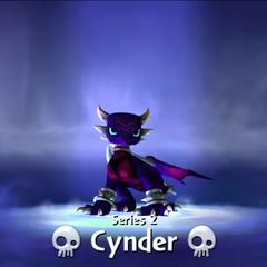 Cynder S2 entrando al portal en <a href=