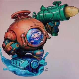 Prototipo de Dive-Clops