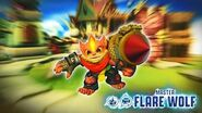 Skylanders Imaginators - Flare Wolf Soul Gem Preview
