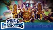 Meet Chain Reaction l Skylanders Imaginators l Skylanders