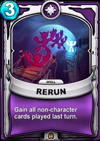 Reruncard