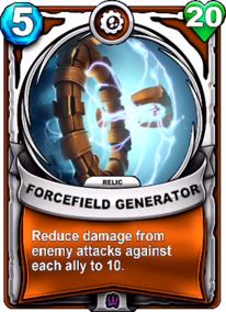 Forcefield Generator - Reliccard