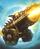 Golden Dragonfire Cannon