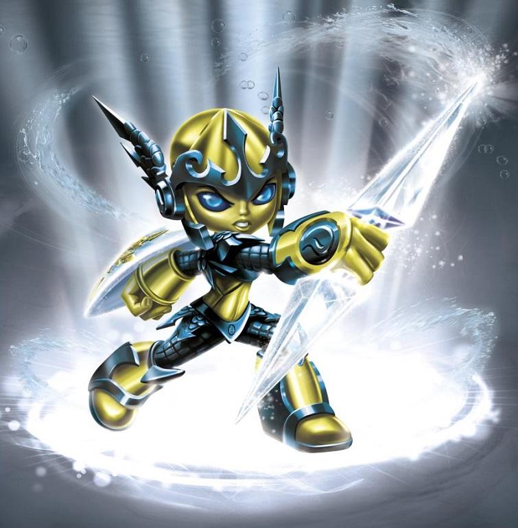 Giants Eruptor Light Core Character Mini-Figure Skylanders