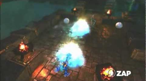Skylanders Spyro's Adventure - Zap Preview (Ride the Lightning)