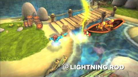 Meet the Skylanders Lightning Rod (extended)