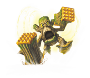 Stump Smash Series 2 Transparent Render
