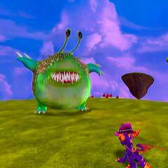 Chompy Mage en su forma de Chompy gigante