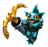 Gill Grunt Transparent Render