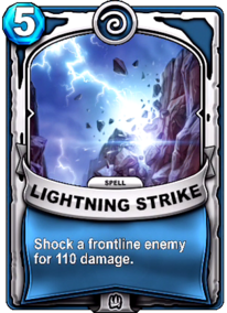 Lightning Strikecard